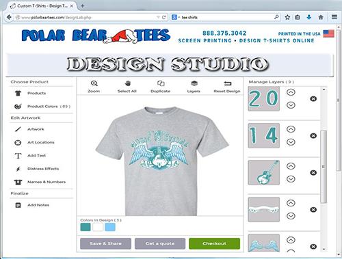 429ea3f4 Custom T-Shirts - Design T-Shirts Online - T-Shirt Screen Printing
